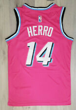 Limited Rare New NWT Rookie Tyler Herro Men's Jersey Miami Pink Swingman # 14