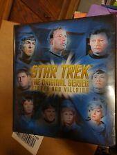 Binder album Star Trek mint
