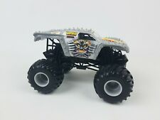 Hot Wheels Monster Jam Mad D Silver Truck 1:24 scale