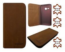 Leder Handytasche HTC One M8 Mini / Mini 2 Schutzhülle Handyhülle Flip Case Etui