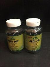 Alfa Vitamins 369 Omega 3 6 9. Flax Oil 1000 mg ( Lot of  2 Bottles Softgels )