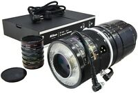NIKON Medical-Nikkor·C 200mm 5.6 + x6 Auxiliary Macro lenses + LD-1 Power Supply