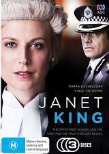 Janet King (DVD, 2014, 3-Disc Set)Genuine & unSealed (D113
