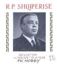 Albania 1968 Mi BL 34 ** Enver Hoxha Politiker