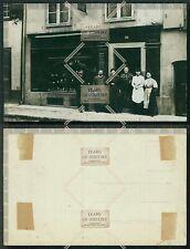 Orig. Foto AK Schuhgeschäft Hausnummer 52 Schuhmacher Schuster 1920