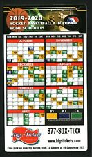 New England Patriots/College Football--2019 Magnet Schedule--National Grand Bank