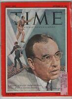 Time Magazine Social Scientist David Riesman September 27, 1954 052520nonrh
