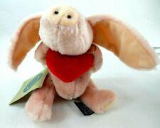 "Boyds Bears Rare Retired 1996 ""Aphrodite"" 6 3/4"" Pink Pig Angel Ornament Nwt!"