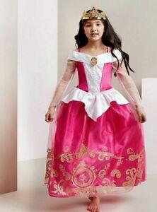 Disney Princess Sleeping Beauty 'Aurora' Fancy Dress Costume ~ Girls ALL Years