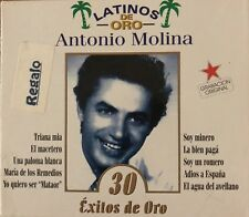 Antonio Molina - Latinos de Oro - 2 CD's