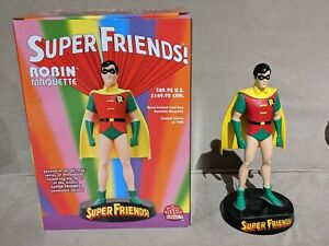DC Direct Super Friends ROBIN Maquette Statue Superfriends 2003 443/1500