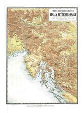 ITALIA SETTENTRIONALE- ISTRIA - GOLFO DI  QUARNERO - ISOLA CHERSO -VALLARDI 1868