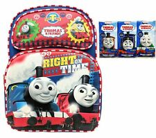 Thomas the Train Thomas & Friends Full Size 16 Inch Backpack Plus Pocket Tissues