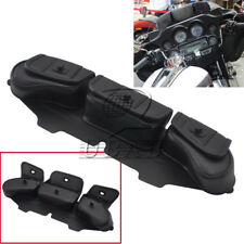 Windshield Bag Saddle 3 Pouch Pocket Fairing for Harley FLHT FLHTC FLHX Touring