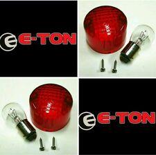 Eton 811037 ATV Tail Brake Light 2 Lenses 2 Bulbs Viper 50cc 70cc 90cc RXL-90R