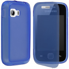 Case IN TPU And Flip Cover Blue for Samsung Galaxy Y/S5360