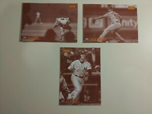 2021 Topps Stadium Club Sepia Parallel Baseball Cards - 6 Cards
