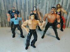 Marvel ToyBiz WCW 6 Figure Lot Very Good Condition!!