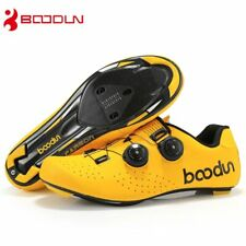 Carbon Fiber Cycling Shoes Spine Buckle Ultralight Bicycle Shoes Self-Locking
