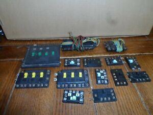 ATLAS HO SCALE SWITCH TRACK CONTROL'S   LOT  14 PCS.