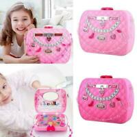 Kid Make Up Toy Safe Non-toxic Girl Makeup Box Simulation Spielze H5V0