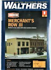 N Scale Walthers Cornerstone 933-3851 Merchant's Row III Building Kit