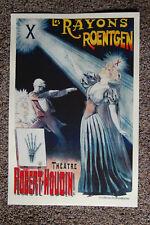 Robert Houdin magician poster #6 1895 Les Rayons Roentgen