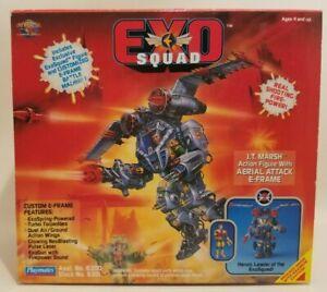 EXOSQUAD Complete! J T Marsh Action Figure w/ Aerial Attack E-Frame Open Box