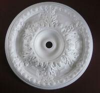 "Ceiling Rose Large Size 490mm (19"") 'Claremount' Quality Polystyrene Rose"