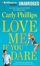 Most Eligible Bachelor: Love Me If You Dare 2 by Carly Phillips (2010, MP3 CD, U