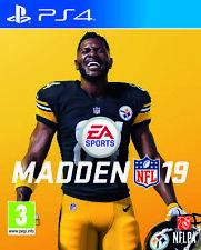 Madden NFL 19 Sony Ps4 Game (uk & ) Licensed American Football SIM