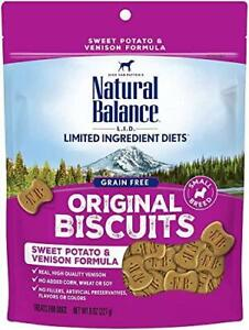 Natural Balance L.I.D. Limited Ingredient Diets Small Breed Dog Treats, Sweet