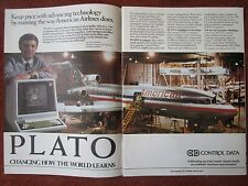 6/1982 PUB CONTROL DATA PLATO COMPUTER-BASED TRAINING 767 AMERICAN AIRLINES AD