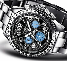 FIREFOX Hochwert- Chronograph FFS15 RACER Perlmutt-Chronos Herren- Armbanduhr