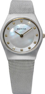 Bering Time - Classic - Ladies Silver-Tone Mesh Watch 11927-004 (Womens)