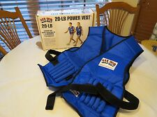 All Pro 20 pound LB power vest weight adjustable exercise contour weighted NOS