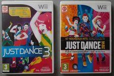 Lot 2 jeux JUST DANCE 3 + JUST DANCE 2014 - Nintendo Wii - Français (PAL)