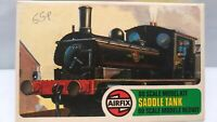 Vintage 1975 Airfix Saddle Tank OO Gauge Model Kit Series 2 Steam Locomotive