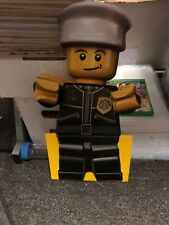"""LEGO Toys R Us STORE DISPLAY Sign Character 15"""" Figure Two Double Sided Lot (4)"""