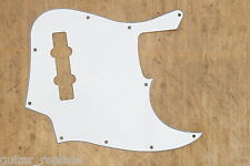 Golpeador Blanco Jazz Bass 3 Capas Pickguard  Salvapuas Scratchplate