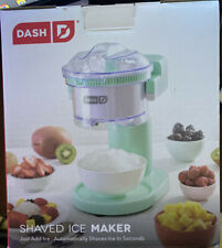 Green Dash Shaved Ice Maker Open Box