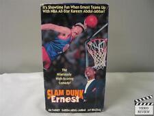 Slam Dunk Ernest VHS Jim Varney, Kareem Abdul-Jabbar, Jay Brazeau; John Cherry