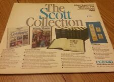 The Scott collection new album supplement pages  stamp national #55 1987
