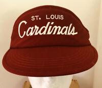 Vintage NFL St. Louis Cardinals Visor Hat Cap Adjustable Strap Adult NWOT NEW