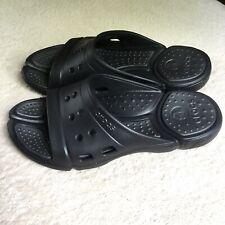 Crocs Black Slides NWOT Mens Size 8 Womens Size 10