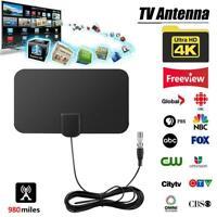 4K 980Mile Antenna TV Digital HD Antena Digital Indoor HDTV 1080p FM VHF/UHF DVB