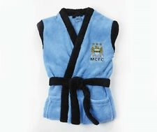 BOYS MANCHESTER CITY Bathrobe Dressing Gown Size: Age 2 to 3 Years NEW Official