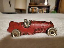 Antique Hubley #5 Cast Iron Race Car 1930s