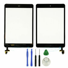 Black iPad Mini 1 2 Touch Digitizer Screen + Home Button + IC Connector + Tools