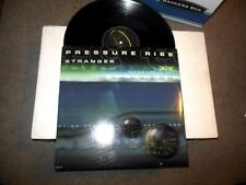"""Stranger by Pressure Rise 12"""" LP single featuring Bad Company remix drum n bass"""